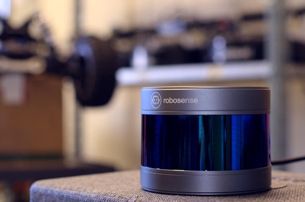 First sensor from RoboSense in Quebec!